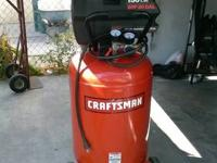 FOR SALE A ALMOST NEW CRAFTSMAN 30 GALLON AIR
