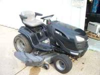 WE ARE OFFERING A VERY NICE AND CLEAN CRAFTSMAN GT 5000