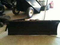 "Craftsman 42"" Snow blade Model No. 486.24443; plow is"