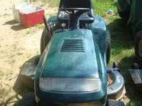 Craftsman tractor/riding mower features 19HP engine, 6