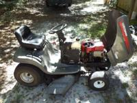 2002 craftsman riding mower runs and cuts great , call