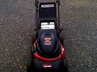 This is a brand new 48v battery mower 3 level automatic