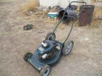 craftsman lawn mower ~5.5 hp ~wasnt used a whole lot