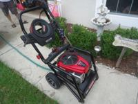 Craftsman 5-in-1 auto throttle pressure washer In
