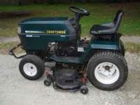 COMPLETE LAWN TRACTOR CRAFTSMAN PACKAGE FOR $1250 OBO.