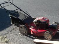 I have a front drive craftsman mower just serviced new