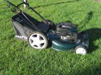 "Craftsman 6.75 HP 22"" deck mower Great mower. Starts"