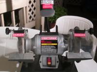 Type:Craftsman Bench Grinder~Craftsman 1/6-HP 6-inch