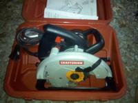 Selling a craftsman 7-1/4 in. Circular saw. NEVER been