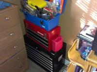 I have an 8 drawer craftsman toolbox with about 70%