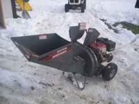 Craftsman 9hp Chipper Shredder 375 Amherst Jct