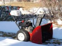 Craftsman Snowblower 9 Hp motor 28 inch cut Power