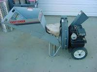 I Have A Very Nice Craftsman 5 Hp Chipper Shredder For