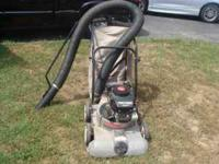 -I have a Craftsman chipper/vac 5 horse power with