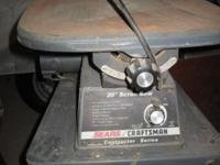 "Craftsman Contractor Series 20"" Variable Speed Scroll"