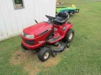 Selling a Craftsman DLT 3000 Mower. Has Hydrostatic
