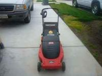 Craftsman CORDED ELECTRIC Lawnmower with removable bag