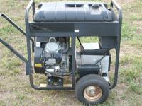 This is a Craftsman electric start gasoline powered