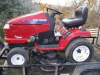 Newer Craftsman GT5000 garden tractor great shape has a