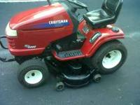 "Craftsman GT 5000 48"" cut--2003 model and hydrostatic"