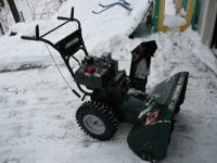 I have several snowblowers for sale. This particular