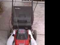 Craftsman II eager 1 mower with a cast iron liner,