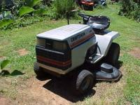 CRAFTSMAN II RIDING MOWER - $300 (HILLSBOROUGH NC 27278