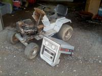 Sears 1036 Lawn Tractor does not run, it ran in the