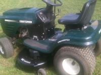 Lawn mower runs great. In good shape, does a great job