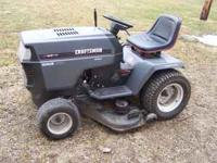 I have for sale a Craftsman lawn tractor with a 18HP