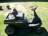 I have for sale a Craftsman lawnmower. It has 10 hp and