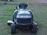 fs /trade craftsman lt 1000 riding mower - $650