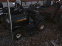 . Runs great. Craftsman 17.5 hp LT1000 riding lawn