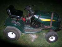 i have a craftsman lt1000 runs great good rear end