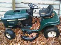 This mower is beautiful. :) It is in excellent