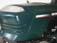 '02 Craftsman Lt1000 hood, grille and fenders. Very