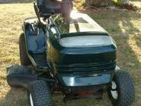 Craftsman LT1000 riding lawn mower. 15.5 HP Briggs