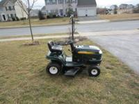 Craftsman LT1000 riding mower ,2003 model year 17.5hp