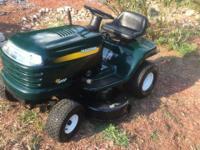 This Craftman lt1000 is a 17.5hp Briggs and Stratton