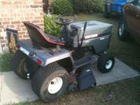 "15.5HP kholer engine, 42"" cut, just put a new battery,"