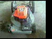 "Craftsman 22"" self propelled mower....set up as a"