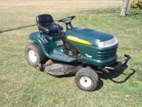 2003 model year, LT1000 Hydrostatic Mulching mower.