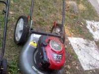 $200.00 Craftsman walk behind push mower works perfect