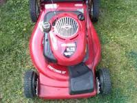 I have a brand new self propelled push mower with a