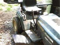 Craftsman riding mower for sale. hydrostatic drive,