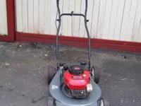 "20"" push mower runs good and ready to mow,call ,Thanks"