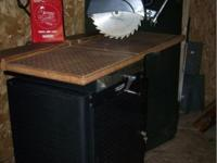 Vintage Craftman Radial-Arm Saw model 100. this saw was