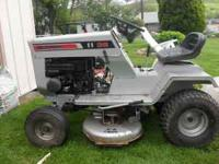 "Sears Craftsman riding lawn tractor 11 hp 36"" cut"