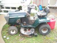 I have a craftsman riding lawn mower briggs and