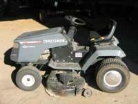 CRAFTSMAN RIDING LAWN MOWER 15.5 HP.. RUNS GREAT!! NEW